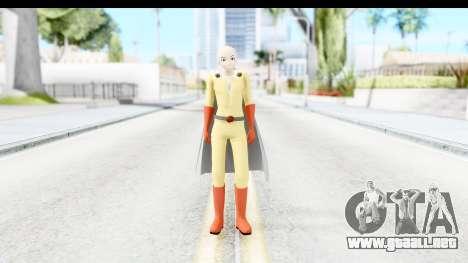 Saitama para GTA San Andreas segunda pantalla