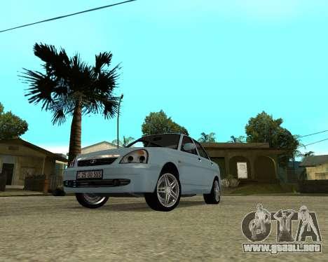 Lada Priora Armenia para GTA San Andreas