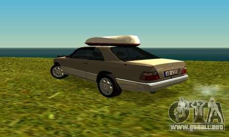 Mercedes Benz 320E para la visión correcta GTA San Andreas