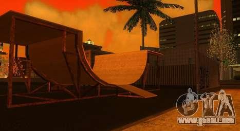 Nuevas texturas de un skate Park y hospital para GTA San Andreas segunda pantalla