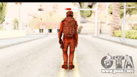 Homefront The Revolution - KPA v1 Red para GTA San Andreas tercera pantalla