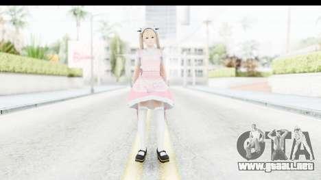 DoA 5: LR - Marie Rose Maid Remade para GTA San Andreas segunda pantalla