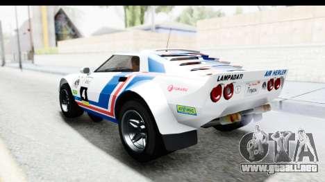 GTA 5 Lampadati Tropos IVF para las ruedas de GTA San Andreas