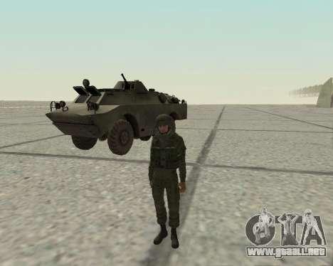 Pak combatientes de aire para GTA San Andreas tercera pantalla