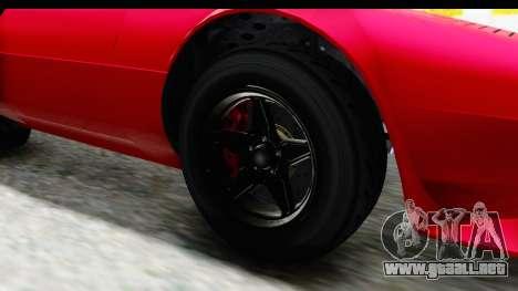 GTA 5 Lampadati Tropos IVF para GTA San Andreas vista hacia atrás