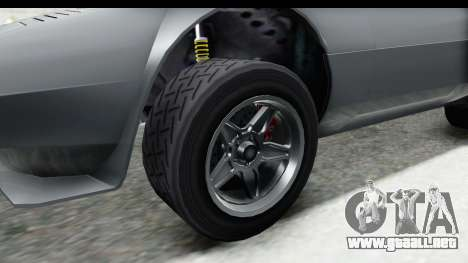 GTA 5 Lampadati Tropos Rallye para GTA San Andreas vista hacia atrás