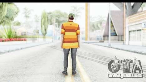 Skin Male Random 3 GTA Online para GTA San Andreas tercera pantalla