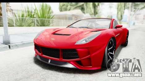 GTA 5 Dewbauchee Seven 70 IVF para GTA San Andreas