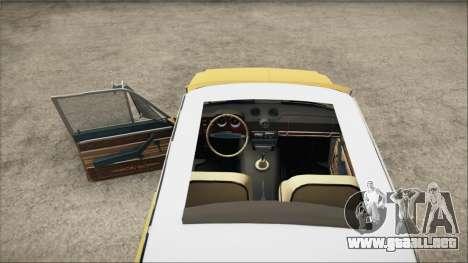 VAZ 2106 Summer para GTA San Andreas vista posterior izquierda