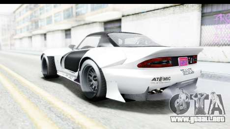 GTA 5 Bravado Banshee 900R Carbon Mip Map para vista inferior GTA San Andreas