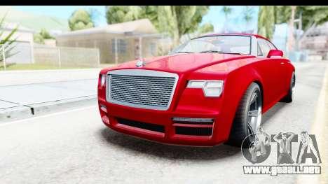 GTA 5 Enus Windsor Drop para la visión correcta GTA San Andreas