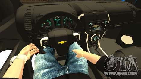 Chevrolet TrailBlazer 2015 LTZ para la vista superior GTA San Andreas