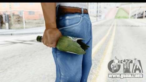 GTA 5 Broken Bottle para GTA San Andreas tercera pantalla