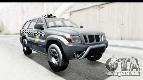 GTA 5 Canis Seminole Taxi para la visión correcta GTA San Andreas