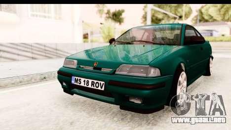 Rover 220 para la visión correcta GTA San Andreas