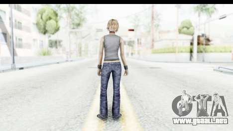 Silent Hill 3 - Heather Sporty Gray Pixel Droid para GTA San Andreas tercera pantalla