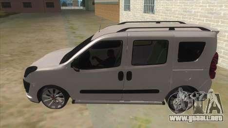 Fiat Doblo 2015 Series para GTA San Andreas left