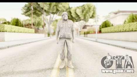 ArmyMen: Serge Heroes 2 - Man v1 para GTA San Andreas segunda pantalla