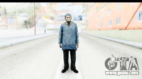 Silent Hill Downpour - Doctor para GTA San Andreas segunda pantalla
