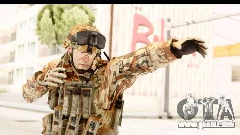 Danish Soldier para GTA San Andreas