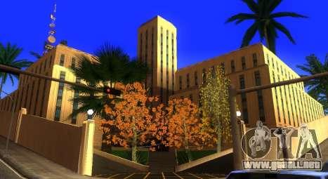Nuevas texturas de un skate Park y hospital para GTA San Andreas sexta pantalla