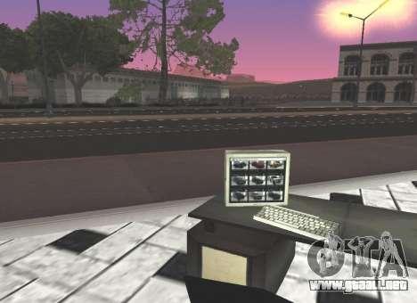 El Grotti concesionario en San Fierro para GTA San Andreas segunda pantalla
