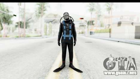 Silent Hill Downpour - Diver para GTA San Andreas segunda pantalla