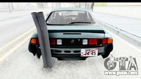 Nissan Silvia S14 Low and Slow para vista lateral GTA San Andreas