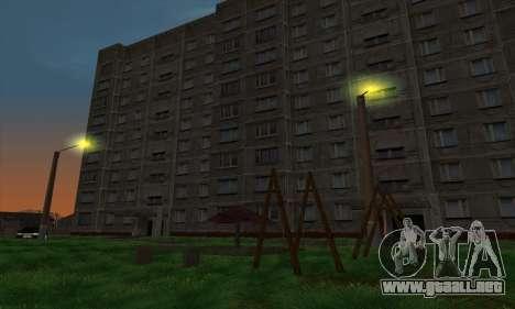 El nuevo distrito cerca de Arzamas para GTA San Andreas sexta pantalla