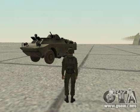 Pak combatientes de aire para GTA San Andreas sucesivamente de pantalla
