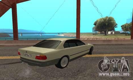 BMW 730 para la visión correcta GTA San Andreas