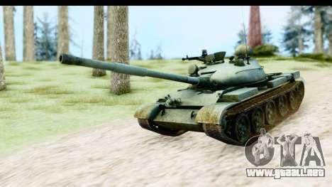 T-62 Wood Camo v1 para GTA San Andreas