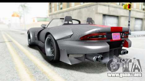 GTA 5 Bravado Banshee 900R Carbon Mip Map para GTA San Andreas left