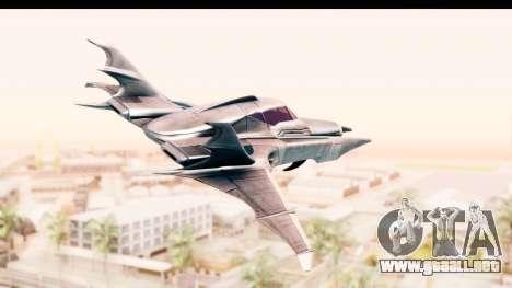 Batman Arkham Asylum - Batwing para GTA San Andreas left
