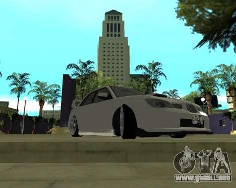 Subaru Impreza Armenian para GTA San Andreas left