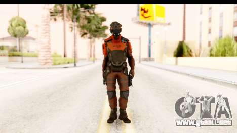 Homefront The Revolution - KPA v1 Red para GTA San Andreas segunda pantalla