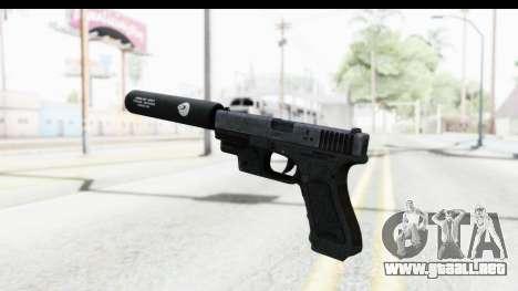 Glock P80 Silenced para GTA San Andreas tercera pantalla