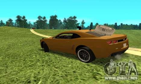 Chevrolet Camaro 2010 para GTA San Andreas left