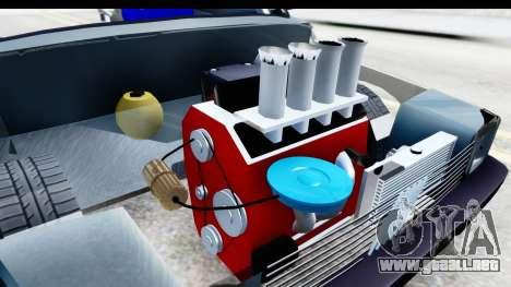 Fiat 147 para visión interna GTA San Andreas
