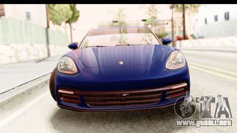Porsche Panamera 4S 2017 v4 para GTA San Andreas