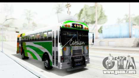 Ruta 135 para la visión correcta GTA San Andreas