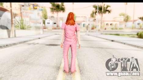 Silent Hill Shattered Memories - Lisa Garland para GTA San Andreas tercera pantalla