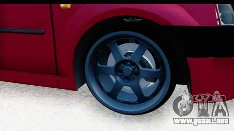 Dacia Logan Editie para GTA San Andreas vista hacia atrás