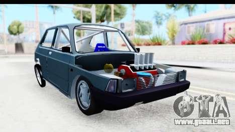 Fiat 147 para la visión correcta GTA San Andreas