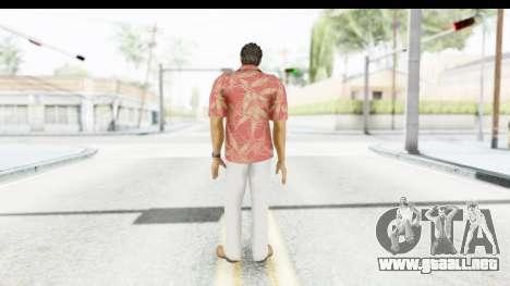 Yakuza 5 Kazuma Kiryu Okinawa para GTA San Andreas tercera pantalla