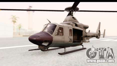 GTA 5 Buckingham Valkyrie para la visión correcta GTA San Andreas