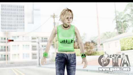 Silent Hill 3 - Heather Sporty Green Evolution para GTA San Andreas