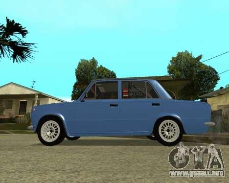 VAZ 2101 Armenia para la visión correcta GTA San Andreas
