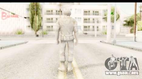 ArmyMen: Serge Heroes 2 - Man v1 para GTA San Andreas tercera pantalla