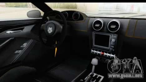 GTA 5 Ocelot Lynx SA Lights PJ para visión interna GTA San Andreas
